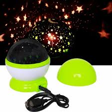 plug in projector night light magic novelty led night light rotating star starry projector table