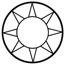 signspecialist com beevault decals sun symbol vinyl sticker