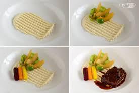 assiette de cuisine dresser une assiette de purée décoration cuisine