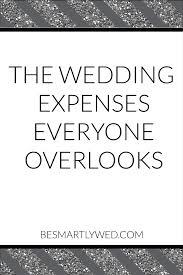 wedding expenses wedding budget blunders the wedding expenses everyone overlooks