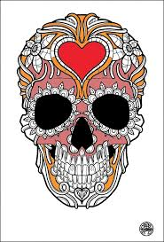 skeleton coloring tattoos coloring pages for adults justcolor