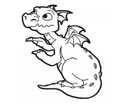 printable 26 baby dragon coloring pages 4119 cute baby dragon