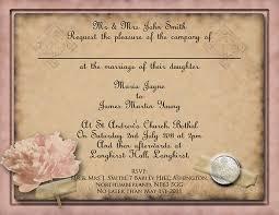 vintage wedding invites 26 vintage wedding invitation templates free sle exle
