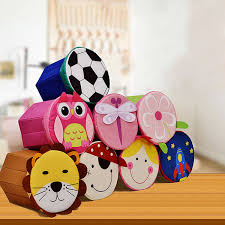 Childrens Storage Ottoman Box Lens Picture More Detailed Picture About New 18l Cartoon