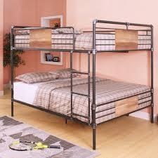 Bunk Beds  Diy Bunk Beds Twin Over Full Futon Bunk Bed Walmart - Full over full bunk bed plans