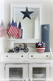 waving the flag 4th of july decor random thoughts home