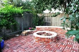 Brick Firepits Landscape Brick Pit Brick Pit Large Size Of Pits