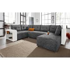 matière canapé canapé panoramique convertible bi matière étagère rangement