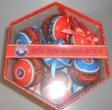 lionel trains ornaments set of 14 ebay