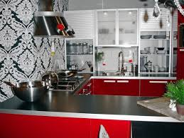 Red Kitchen Countertop - astonishing country kitchen designs brisbane with white river