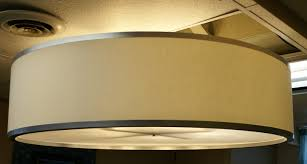 large fabric l shades lighting large drum light fixtures hanging shade with frosted