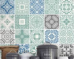 Tile Decals For Kitchen Backsplash Kitchen Backsplash Hydraulic Tile Stickers Por Homeartstickers