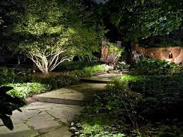 Solar Lighting For Gardens by Solar Landscape Lighting Beautiful And Safety Solar Landscape