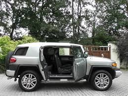 toyota fj cruiser used gunmetal grey met with white roof toyota fj cruiser for sale