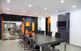 Grey Meeting Table Awesome Modern Office Conference Room Design Showing Rectangle