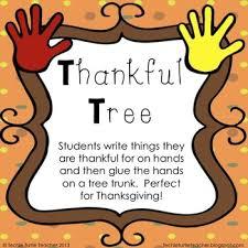 thankful tree thanksgiving activity thankful tree thankful and