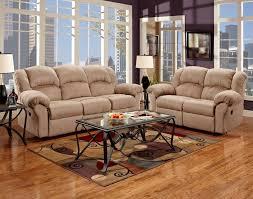Grey Sofa Recliner Grey Sectional Microfiber Reclining Living Room Sets