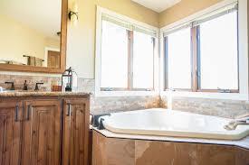 Craftsman Style Bathroom Mission Style Bathroom Bathroom Craftsman With Corner Bathtub