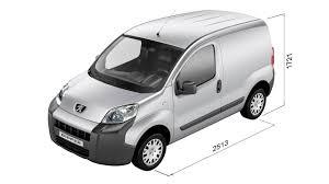 peugeot vans peugeot bipper technical specs motor gearbox