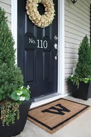 Front Door Planters by 346 Best Front Door Decor Images On Pinterest Front Doors Front
