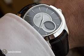 piaget emperador on with the piaget emperador coussin large moon monochrome