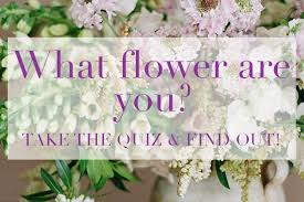 wedding flowers quiz what flower are you quiz flower magazine home lifestyle