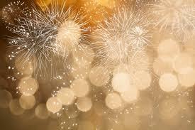 new years back drop 7x5ft buff bokeh spots fireworks sky new year custom photo