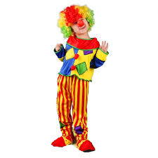 purim party supplies 2018 kids boys clown costume amusement park performance
