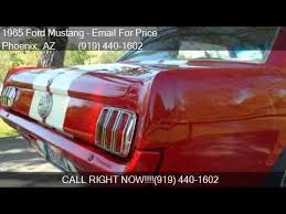 ford mustangs for sale in arizona 1965 ford mustang for sale in az 85033 at