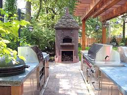 marvelous outdoor kitchen designs with smoker 62 about remodel for