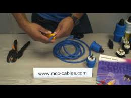 moulded cords u0026 cables ltd how to wire a stk325 2 240v 16a 2p e