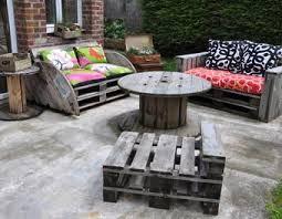 canape palette recup le salon de jardin de la seconde vie canapé palette touret