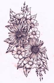tattoo flower drawings flower tattoo drawing at getdrawings com free for personal use