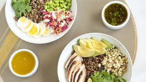 need new healthy lunch ideas try our diy power bowl recipes