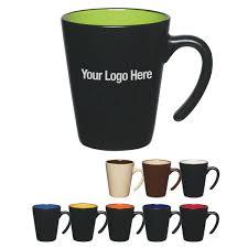 9 oz cool coffee mugs aztec open handle