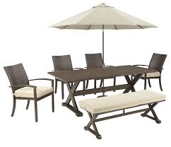 Patio Dining Chairs With Cushions Beachcrest Home Rosario Patio Dining Chair With Cushion Reviews
