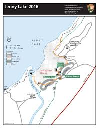 Grand Teton Map Jenny Lake Renewal Project To Impact Visitors Grand Teton