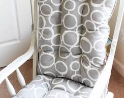 chair cushions wingback glider cushions 4 post rocking chair