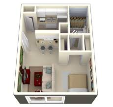 One Room Cottage Floor Plans Studio Apartment Floor Plans