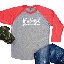 thankful shirt thankful raglan thanksgiving t shirt