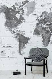 57 best map wallpaper murals images on pinterest map wallpaper black and white detailed map mural world map wallpaperwall