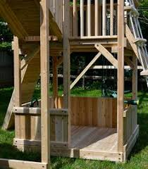 Backyard Play Structure by Backyard Play Gate Lodge Playhouse Wooden Garden Play Centre