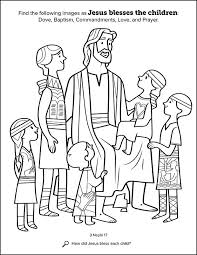 kids having fun with new book of mormon stories coloring book