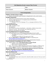 business plan format in word madeline hunter lesson plan template word template business