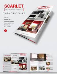 Interior Design From Home by Interior Design Brochure 25 Free Psd Eps Indesign Format