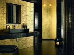 Black And Yellow Bathroom Perfect Black And Gold Bathroom Tiles About Budget Home Interior