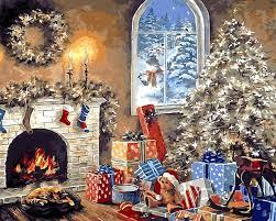 santa claus hadiah merry christmas modul gambar mewarnai