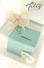 Tiffany And Co Gift Wrapping - tiffany box with cupcakes and replicas of the gifts tiffany ring