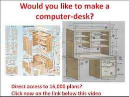 Wood Computer Desk Plans Free by Plans Making A Computer Desk Plans Diy Free Download Box Plans
