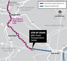 Septa Train Map What Is Septa U0027s Norristown High Speed Line